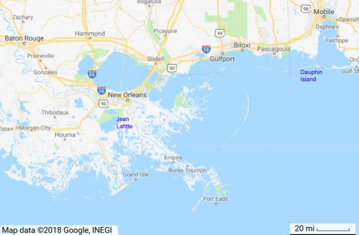 LOUISIANA: They're trying to wash you away | Watts Up With That?