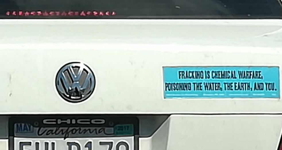 0cbf08d50 ... one of the most ridiculous and outright false bumper stickers I've ever  seen. Of course, only an emotional liberal would display something like  this.