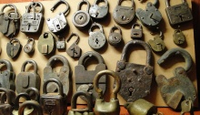 Antique Padlocks